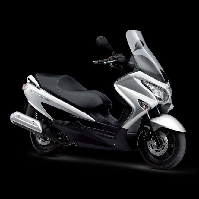 Suzuki phát triển dòng Burgman 180 mới, cạnh tranh Honda PCX - 1