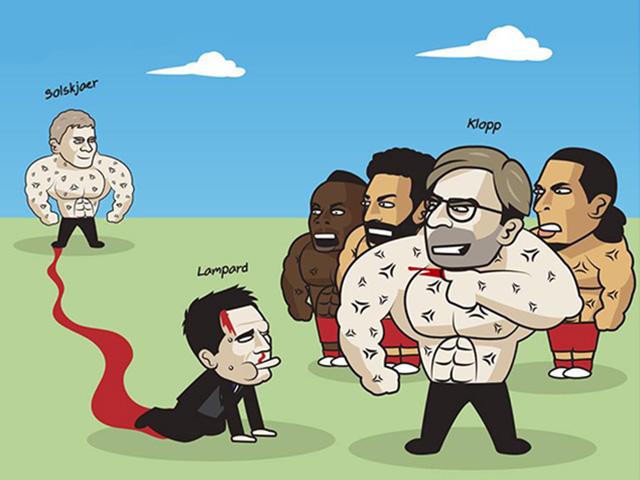 """Sau MU, Lampard tiếp tục bị Liverpool """"bắt nạt"""" ở Siêu cúp châu Âu"""