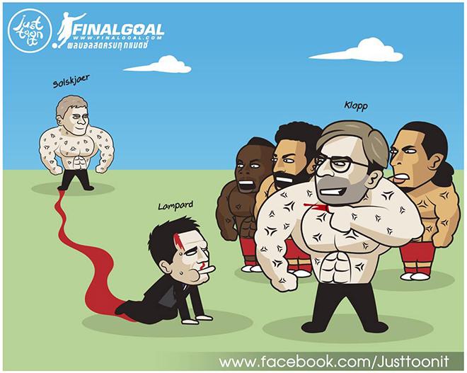 """Sau MU, Lampard tiếp tục bị Liverpool """"bắt nạt"""" ở Siêu cúp châu Âu - 1"""