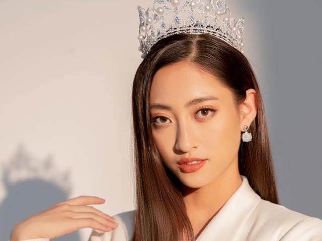 Chụp ảnh thời trang sang chảnh nhưng mắt của hoa hậu Lương Thùy Linh mới gây chú ý
