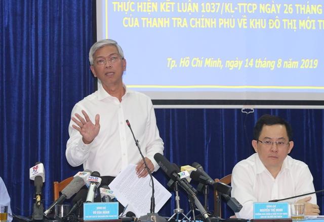 TP.HCM: Cuộc tiếp xúc với cư dân Thủ Thiêm bất thành - 1