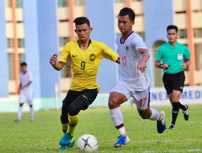 """U18 Malaysia - U18 Thái Lan: Sai lầm chết người, chật vật giữ """"vé vàng"""" - 1"""