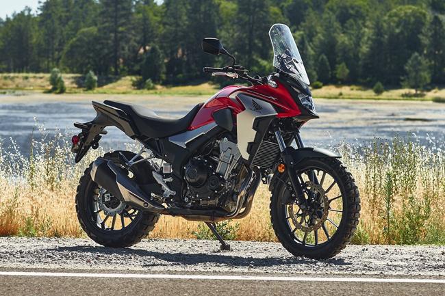 1. Honda CB500X 2019 (giá khởi điểm: 6.799 euro)