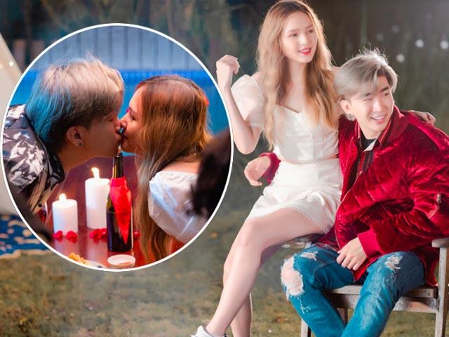 Mặc tin đồn yêu Lan Ngọc, Chi Dân vẫn vô tư ôm hôn gái lạ trong MV