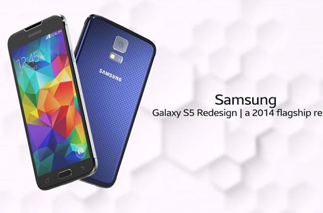Siêu phẩm Galaxy S5 hồi sinh trong thiết kế hiện đại - 1