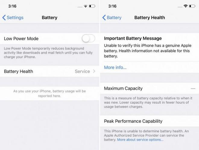 Apple nói gì về việc ngăn bên thứ ba thực hiện thay pin iPhone? - 1
