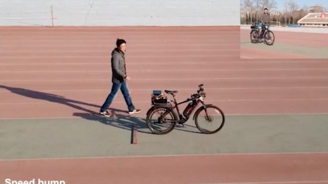Chiếc xe đạp tích hợp chip AI, tự lái siêu việt của Trung Quốc - 1