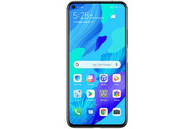 Google làm rò rỉ Huawei Nova 5T đi kèm màn hình lớn đến 5,5 inch - 1