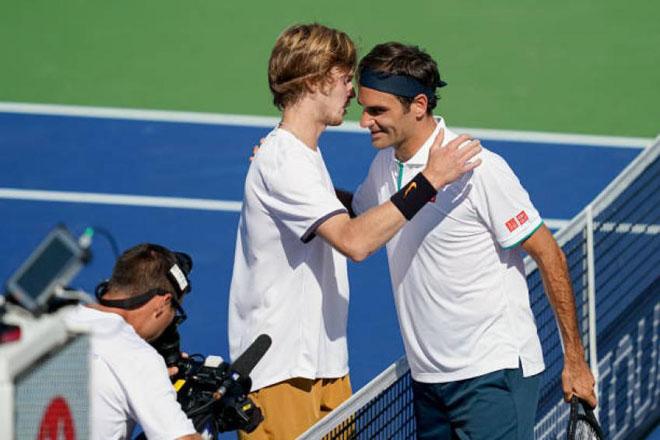 """Tin thể thao HOT 16/8: Federer thua """"tâm phục khẩu phục"""" Rublev - 1"""