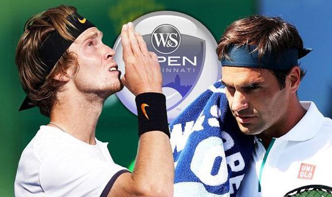 Federer - Andrey Rublev: 2 set chóng vánh, ngỡ ngàng đại địa chấn - 1