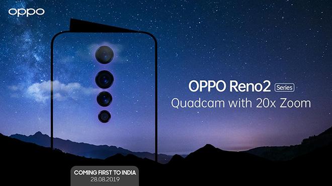 Oppo sắp ra mắt Reno 2 với 4 camera, zoom 20x - 1
