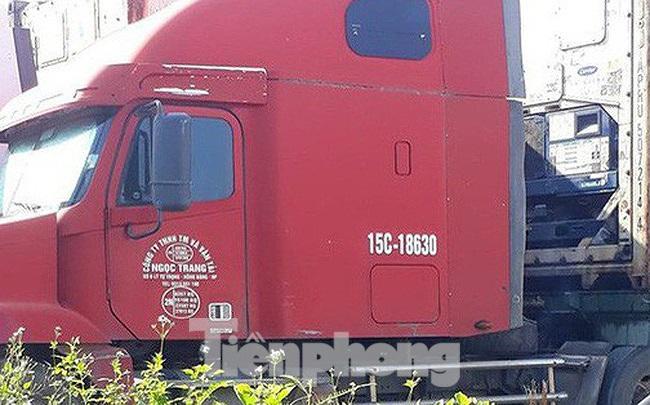 Tài xế xe container chết bất thường trong ca bin ở cửa khẩu Cao Bằng - 1
