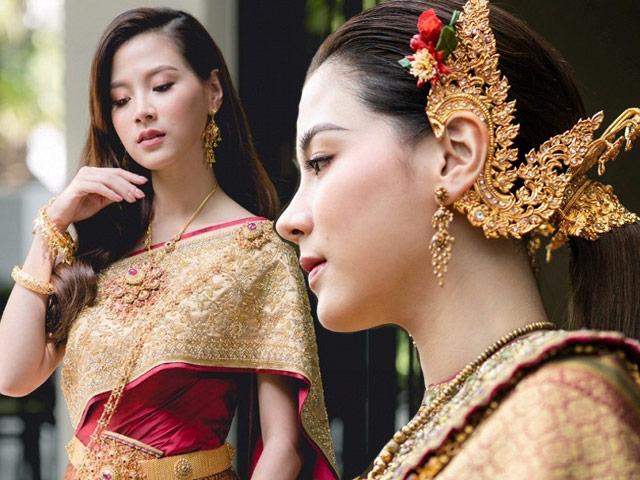 Mỹ nhân hàng đầu Thái Lan diện trang phục truyền thống đẹp như nữ thần