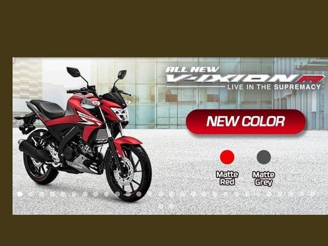 Vừa ra mắt, Yamaha Vixion R 2020 đã nhận thêm 2 màu mới