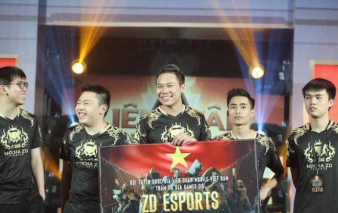 Đã tìm ra đội tuyển Liên Quân Mobile đại diện Việt Nam đi thi SEA Games 30 - 1