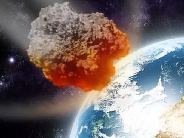 Thiên thạch tương đương 65.000 bom nguyên tử có thể đâm vào Trái đất