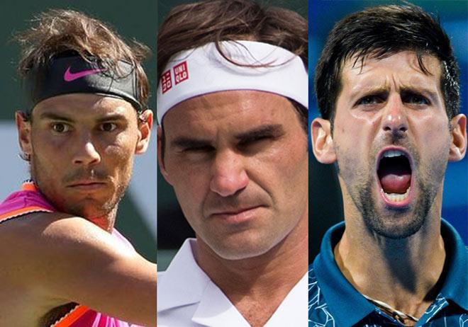 """Bảng xếp hạng tennis 19/8: Federer-Djokovic """"tặng quà"""" Nadal, Medvedev gây loạn - 1"""