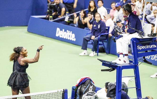 """Chấn động US Open: 138 năm hiếm có, 6 lần vô địch - 3 lần """"chửi như hát hay"""" - 1"""