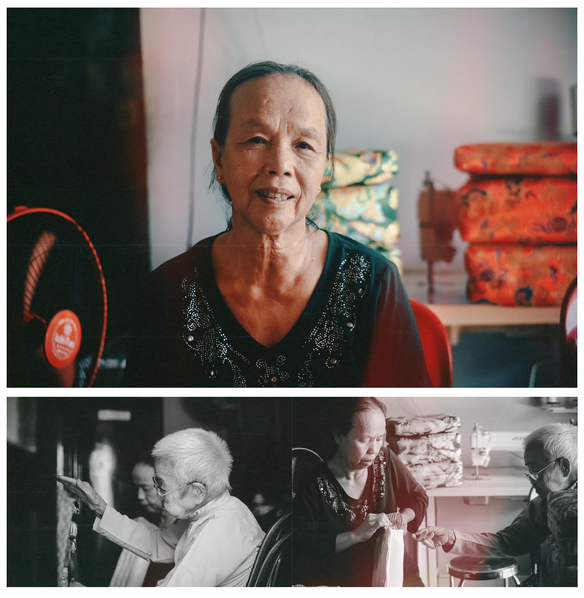 Cụ bà gần 100 năm lưu giữ nghề may gối cung đình Huế - 10