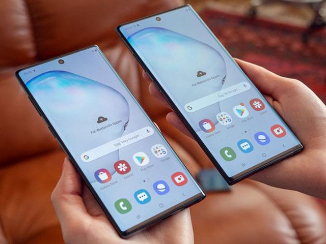 Lượng đơn đặt hàng Galaxy Note10 cao gấp đôi Note9