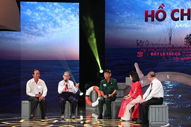"""Chương trình Giao lưu toàn quốc với chủ đề """"Hồ Chí Minh – Hành trình khát vọng"""" - 1"""