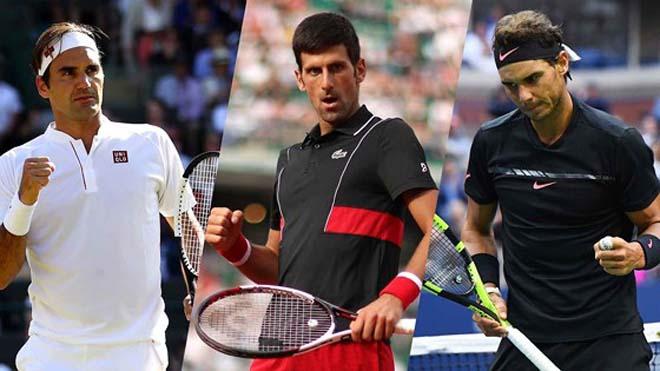 """Federer - Nadal - Djokovic thống trị tennis: """"Tàu tốc hành"""" nói lời cay đắng - 1"""