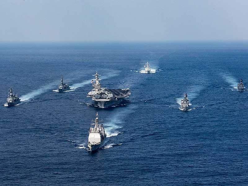 Mỹ sẵn sàng tham gia đối trọng Trung Quốc ở biển Đông - 1
