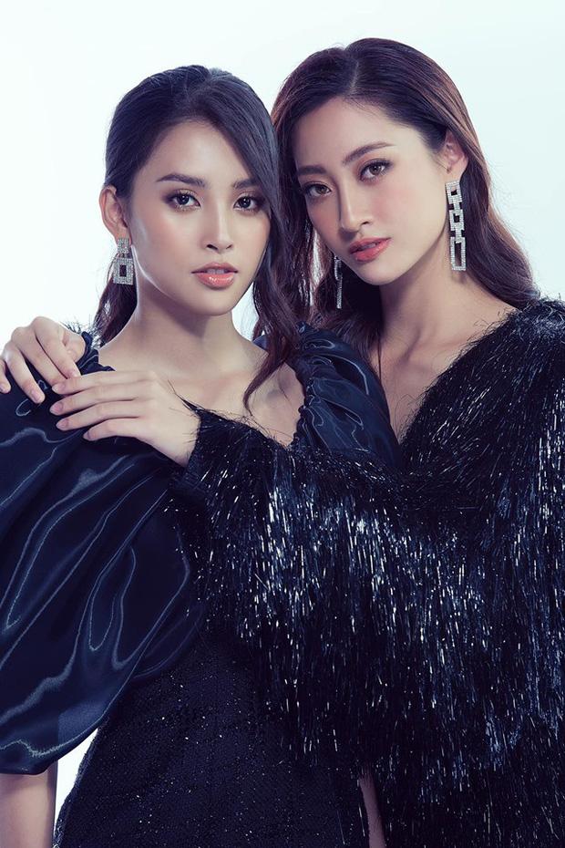 Tiểu Vy, Lương Thùy Linh chuộng style quyến rũ hơn tuổi - 1