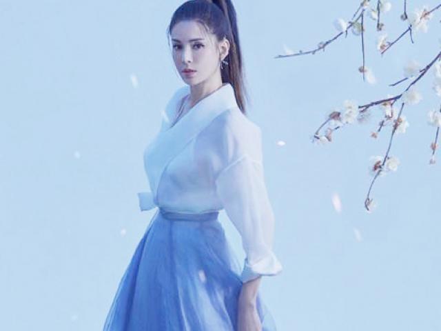 'Tiểu Long Nữ' Lý Nhược Đồng hóa thân thành hiệp nữ đẹp thoát tục trong bộ ảnh mới