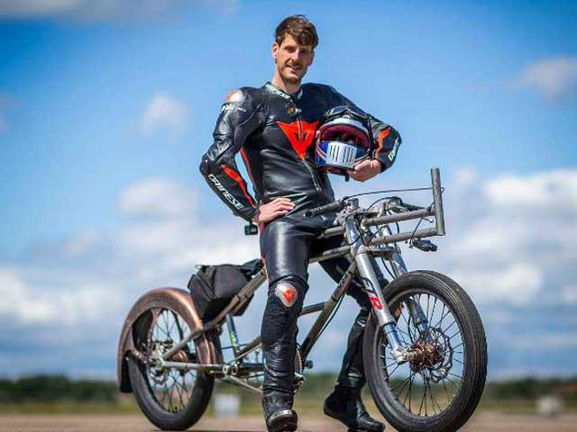Sửng sốt xe đạp 280km/giờ: Nhanh như siêu xe F1, giá hơn 400 triệu đồng - 1