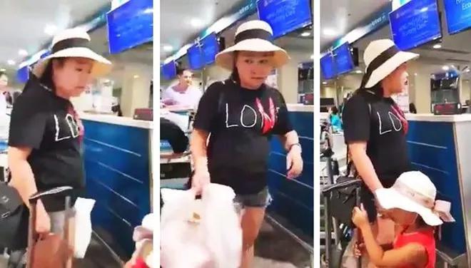 """Nữ công an tố nhân viên hàng không """"chửi"""" trước, xúc phạm trẻ con - 1"""