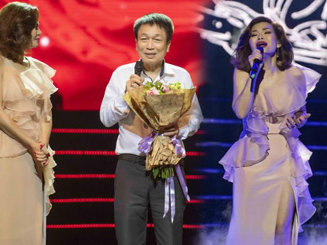 10 năm trở về VN, Ngọc Anh 3A được nhạc sĩ Phú Quang dành tặng điều đặc biệt