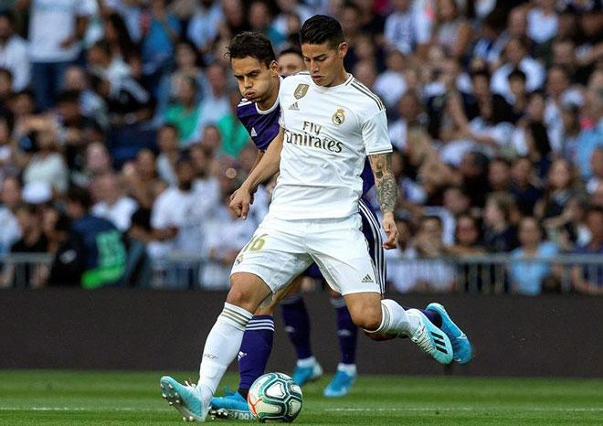 Video highlight trận Real Madrid - Real Valladolid: Siêu phẩm mở màn, trái đắng phút 88 (Vòng 2 La Liga) - 1