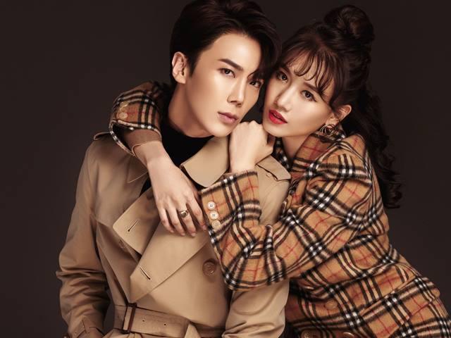 """Hari Won mặc chung áo 60 triệu đồng với Sơn Tùng, """"cặp kè công khai"""" với trai Hàn"""