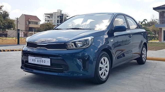 Cận cảnh KIA Soluto - xe phân khúc hạng B sắp về Việt Nam, đối thủ của Toyota Vios - 1