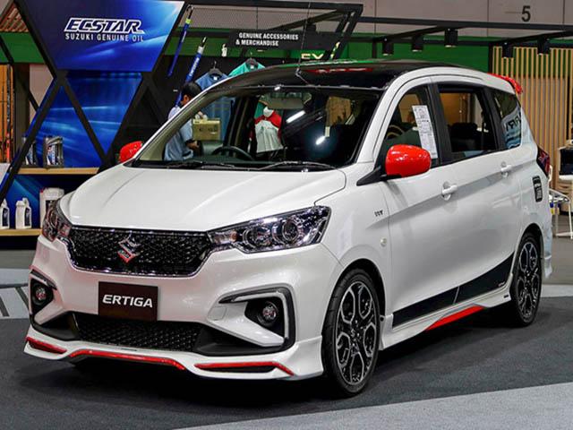 Suzuki Ertiga ấn tượng với gói nâng cấp ngoại thất cực ngầu