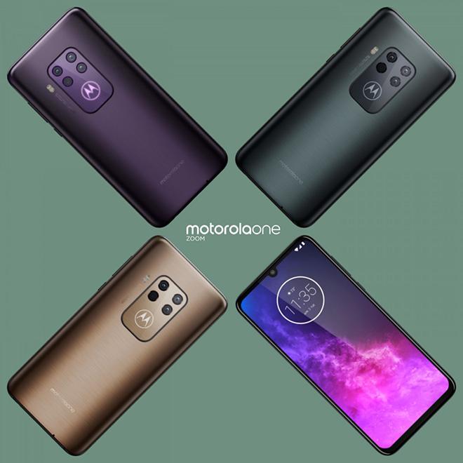 Motorola One Zoom rò rỉ với ba tùy chọn màu, hứa hẹn zoom lai 5x - 1