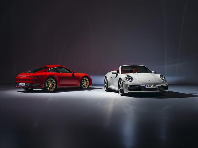 Bộ đôi 911 Carrera Coupe và Cabriolet được Porsche giới thiệu phiên bản mới - 1