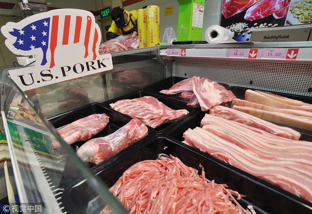 Thương chiến Mỹ-Trung: Dân Trung Quốc lo không có thịt lợn để ăn - 1