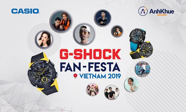 Bạn đã sẵn sàng khuấy động đêm nhạc Casio G-SHOCK Fan Festa cùng Đen Vâu và Jack,  K-ICM? - 1