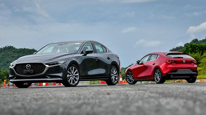 Những hình ảnh mới nhất của xe Mazda 3 2020 sẽ cập bến Việt Nam trong thời gian tới - 1