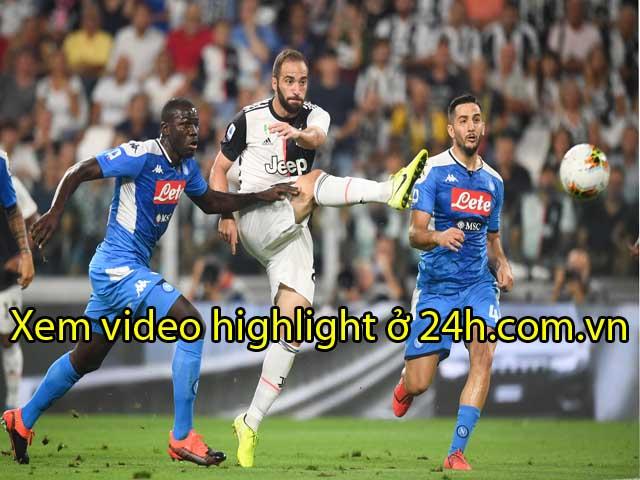 Video highlight trận Juventus - Napoli: Ronaldo khai hỏa, đại tiệc 7 bàn (Vòng 2 Serie A)