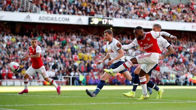 Video highlight trận Arsenal - Tottenham: Hàng công đua tài, 4 bàn tuyệt hảo (Vòng 4 Ngoại hạng Anh) - 1
