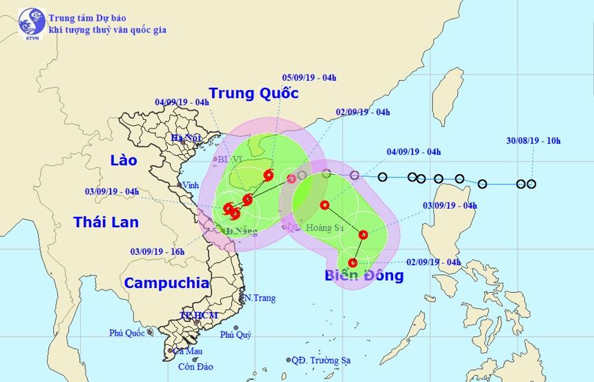 Hai áp thấp nhiệt đới xuất hiện trên Biển Đông, diễn biến vô cùng khó lường - 1