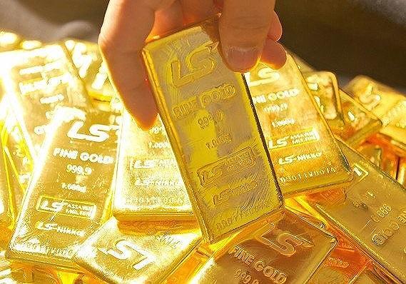 Vàng giảm giá nhẹ - 1