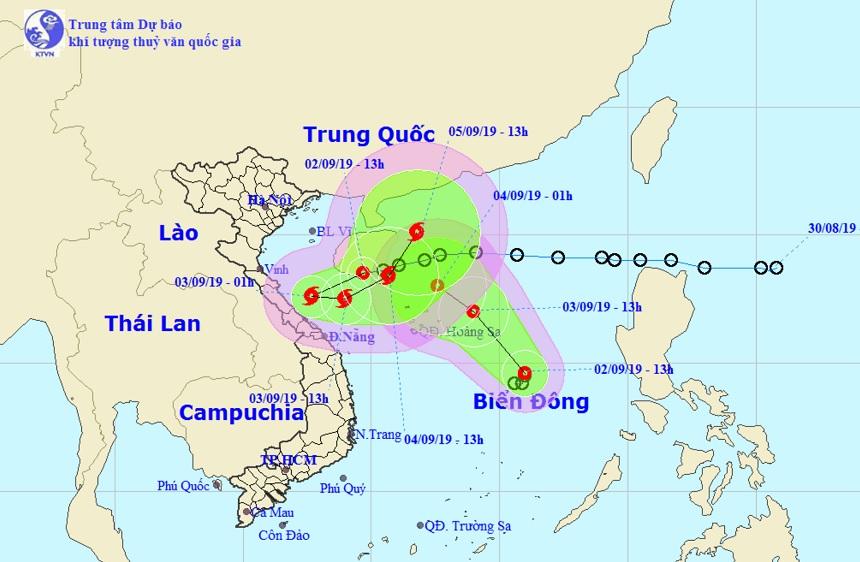 Hai áp thấp nhiệt đới trên Biển Đông có thể nhập thành một - 1