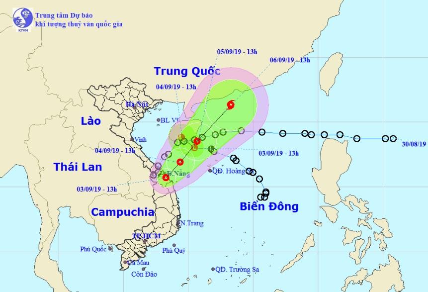 Thông tin mới về vị trí và cường độ của 2 áp thấp nhiệt đới trên Biển Đông - 1