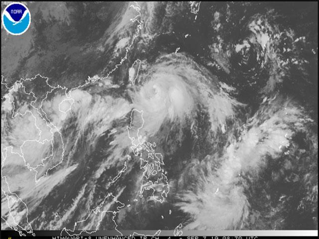 Xuất hiện tam giác bão - áp thấp nhiệt đới, tổ hợp thiên tai hiếm gặp