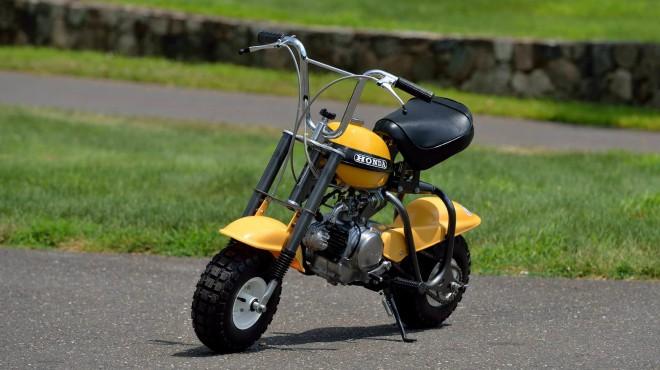 Lạ mắt mẫu xe siêu nhí 1970 Honda QA50 K0 giá suýt 190 triệu đồng - 1