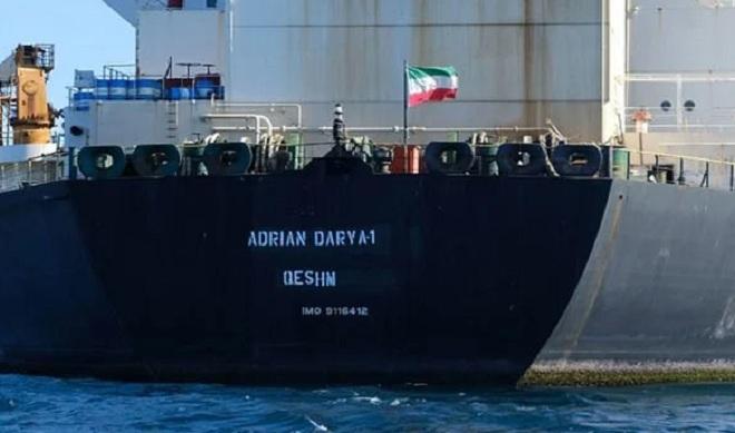 """Siêu tàu chở dầu Iran """"biến mất"""" khi bị tàu Mỹ bám đuôi ngoài khơi Syria - 1"""